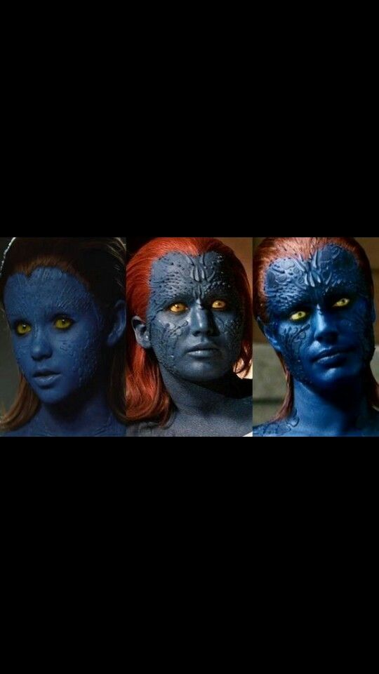 Mystique S Evolution Through The Live Action Movies She Is Such An Interesting Character Mystique Marvel X Men Marvel Characters