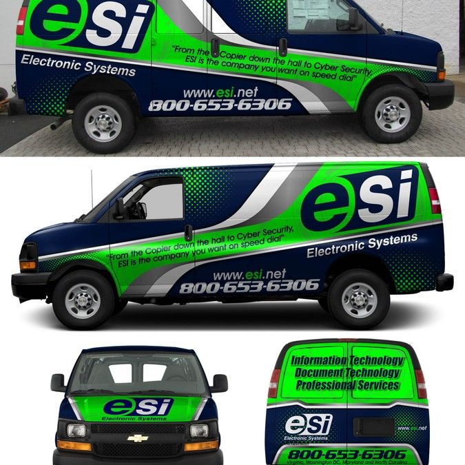 Van Truck Wrap Contest Technology Company Van Type The Van