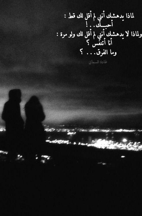 صور خواطر حب لغادة السمان لم يدهشك Cool Words True Words Arabic Words