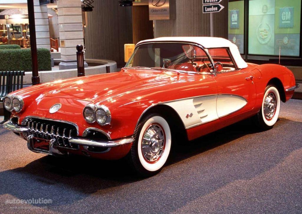 Chevrolet Corvette C1 V8 Convertible 1958 To1962 57 Chevy
