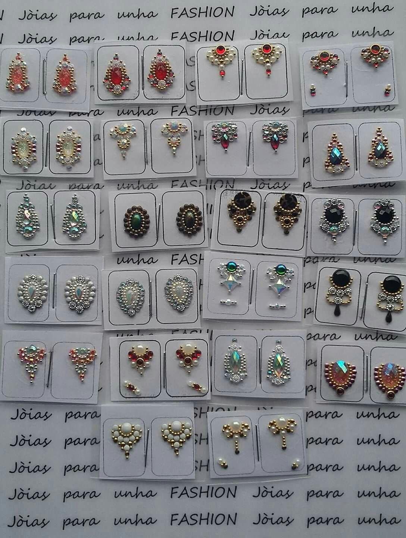 Pedras para joias de unhas