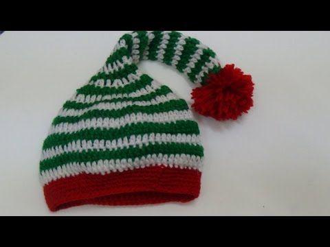 how to crochet a children s elf hat crochet christmas elf set part