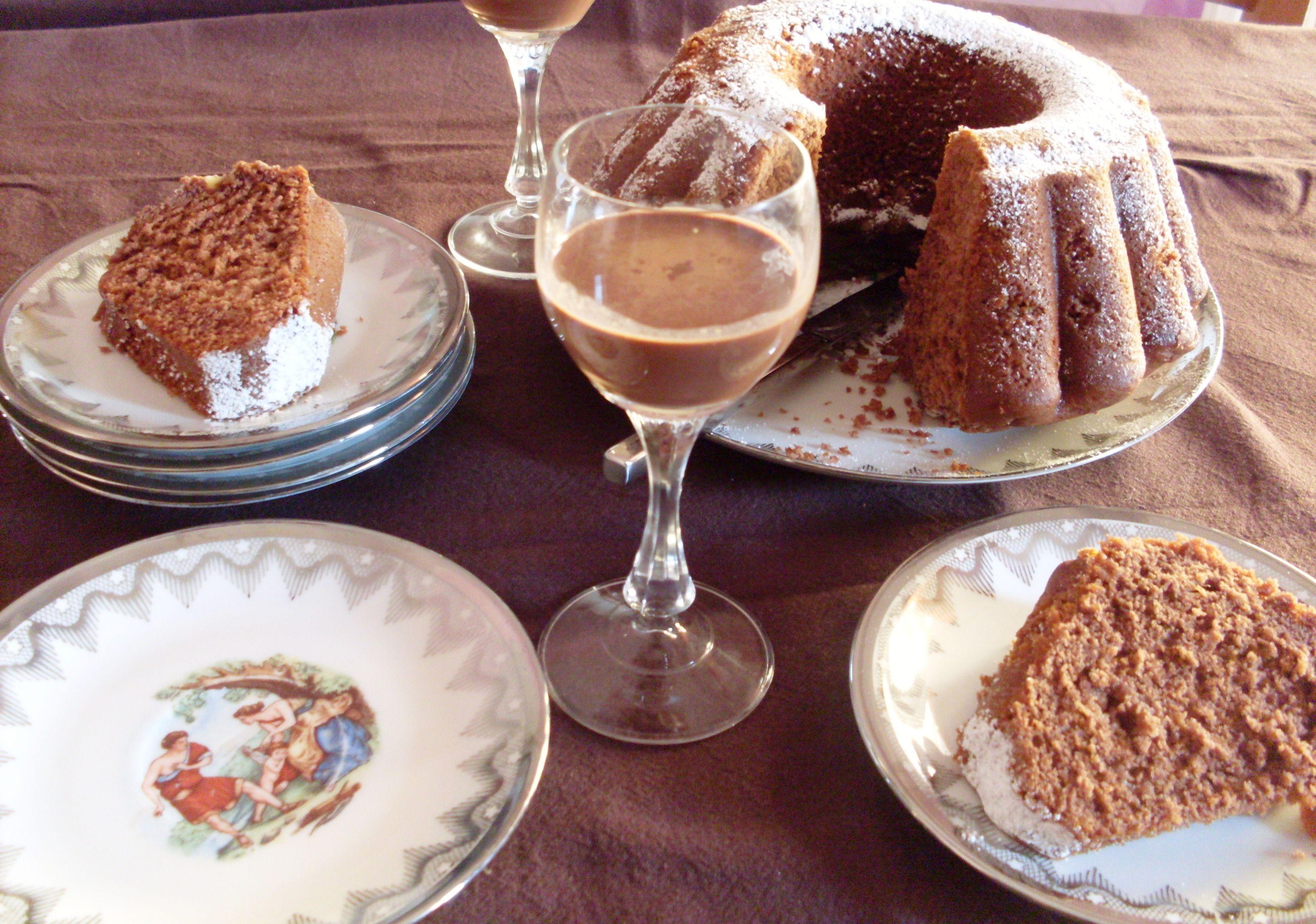 cake alla cioccolata calda