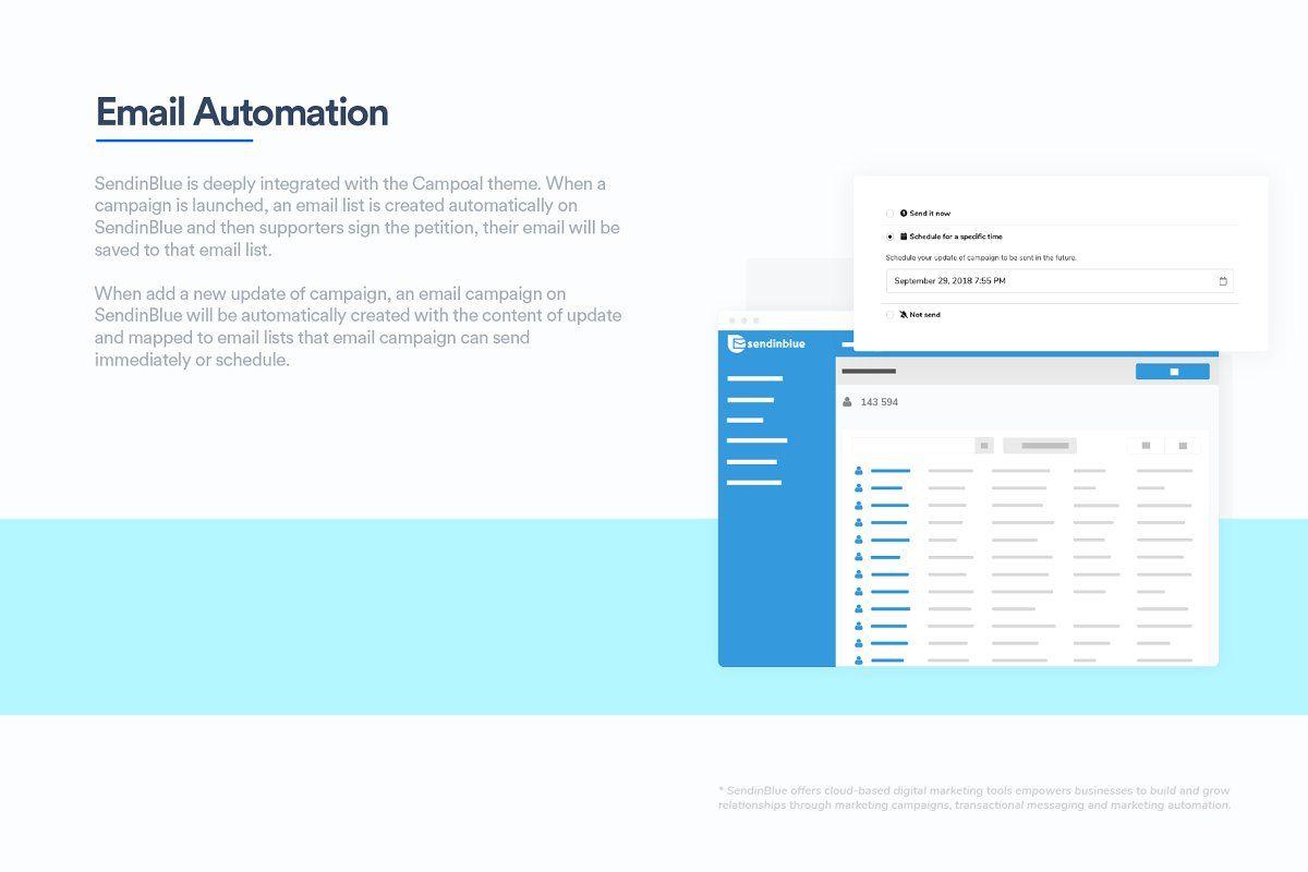 Campoal Petition Platform Theme
