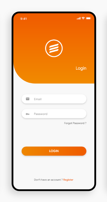 Android login page design ideas simple and elegant