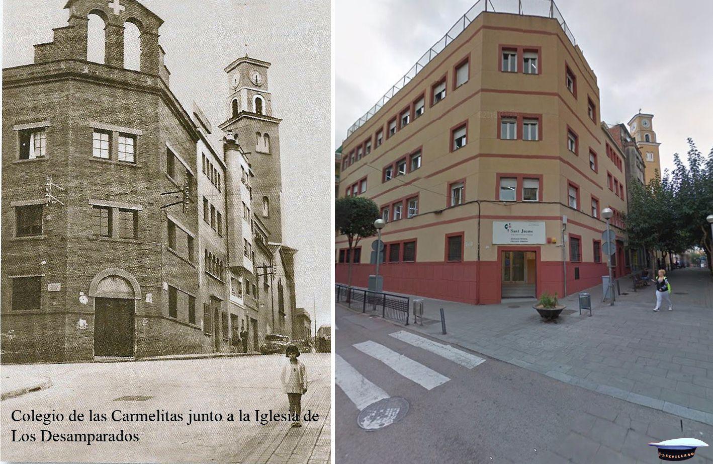 Colegio Santiago Apóstol Antes Y Después Santiago Apostol Barcelona Santiago