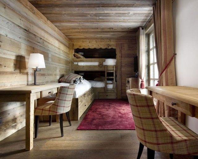 Déco intérieur style chalet idées pour atmosphère chaleureuse bedrooms log cabins and cabin