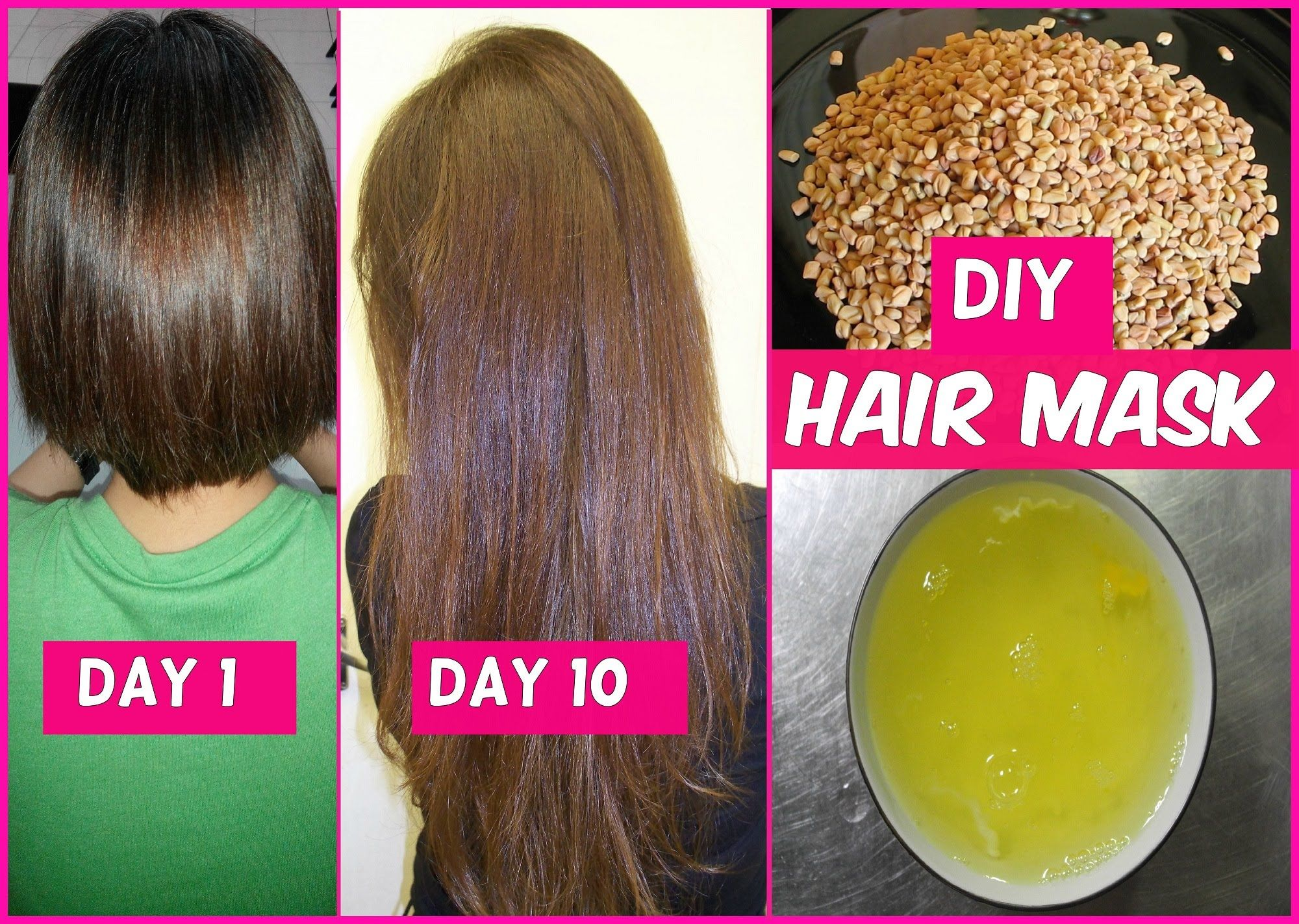 DIY Hair Mask for Long Hair Growth in 1 Week Soin