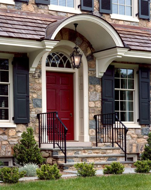 Business Design A House And Window: Front Door Styles, House Shutters, House Exterior