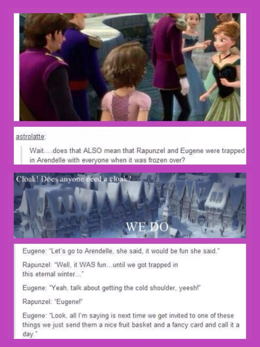 Frozen Tangled Crossover