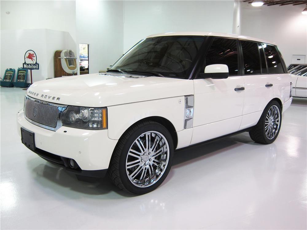 Item Barrett Jackson Auction Company Range Rover Hse Range Rover Supercharged Range Rover