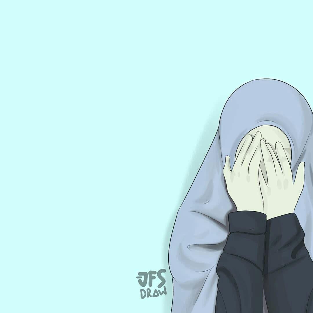 Ig Jfs Draw Kartun Hijab Gambar Kartun