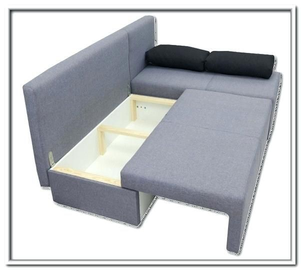 Image result for diy storage couch | Sofa bed for small spaces