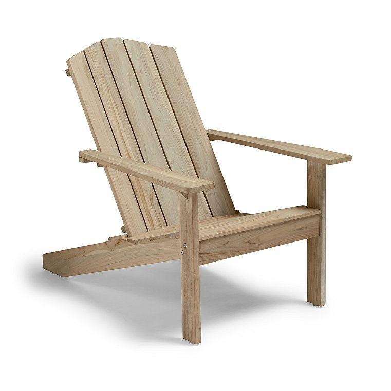 Rowan Adironack Chair Cover Sand Frontgate Chair Ottoman Patio Chair Cushions Chair