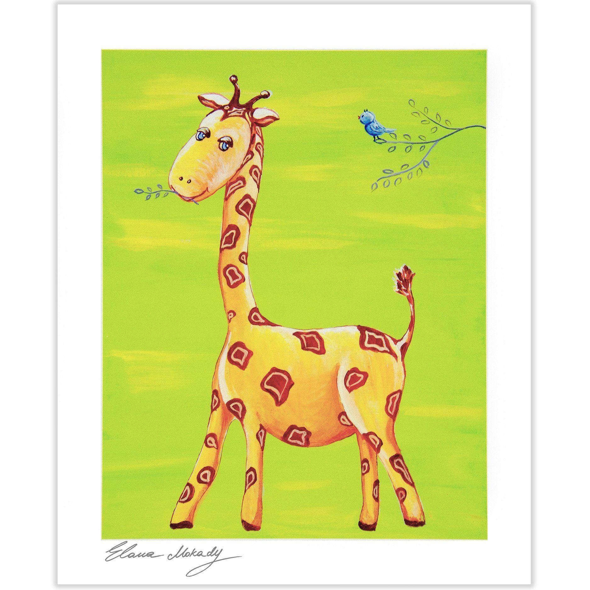 Baby Giraffe, Paper Wall Art | Products | Pinterest | Baby giraffes ...
