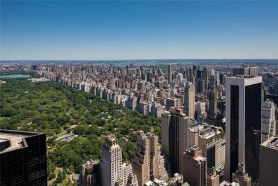 View over Central Park from Nikandros' Manhattan Penthouse