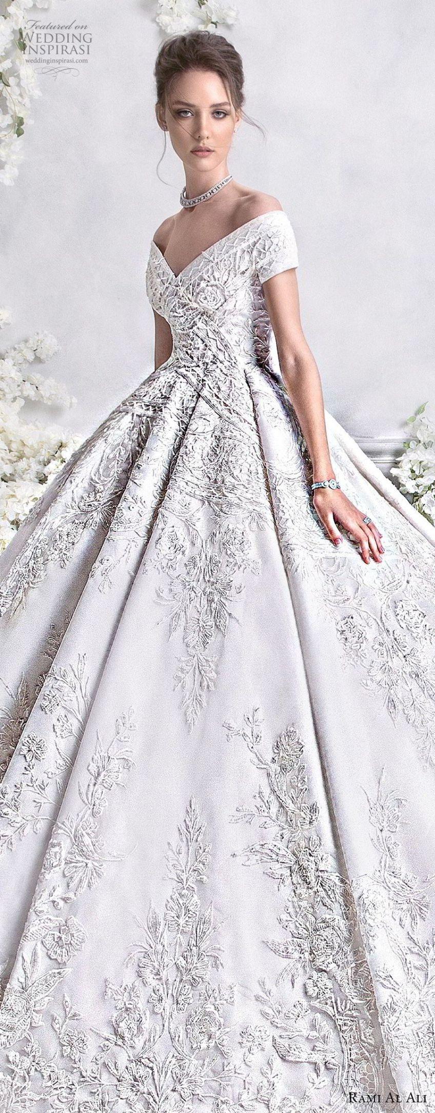 Rami Al Ali 2018 Wedding Dresses   Brautkleider, Hochzeitskleider ...