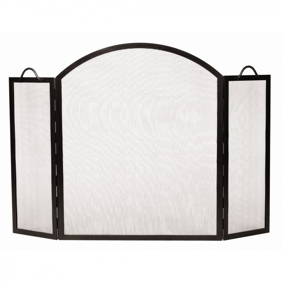 Minuteman Arched Top Twisted Rope Screen - SS-32