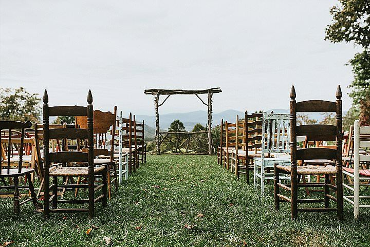 Danielle And Ben's Rustic Mountain Wedding In North