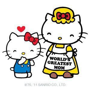 HK with Mama Kitty