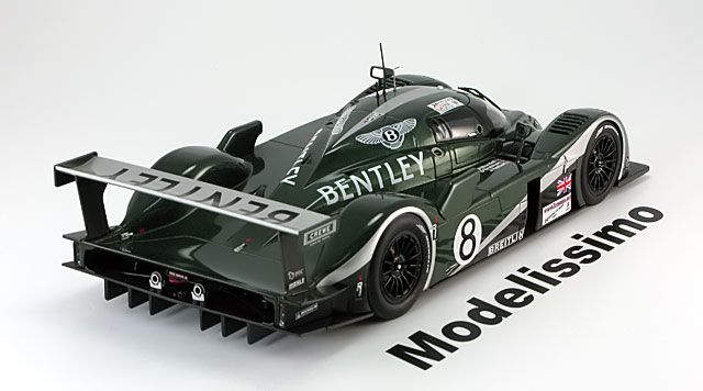 Le Mans Auto Art 1:18 Bentley Speed 8 No.8, Le Mans Blundell/Brabham/Herbert 2003   www.modelissimo.de