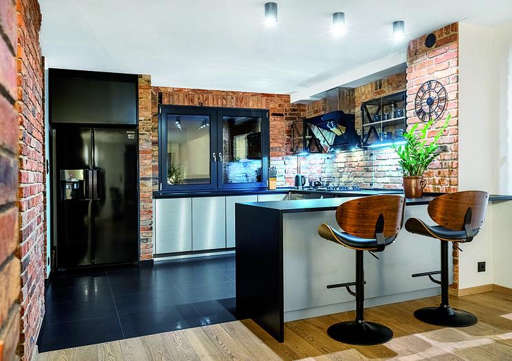 Studio Meble Misz Tarnowskie Gory Przytulny Industrial Aranzacja Kuchnia Z Wyspa Galeria Realizacji Max Kuch Kitchen Decor Kitchen Room Apartment Interior