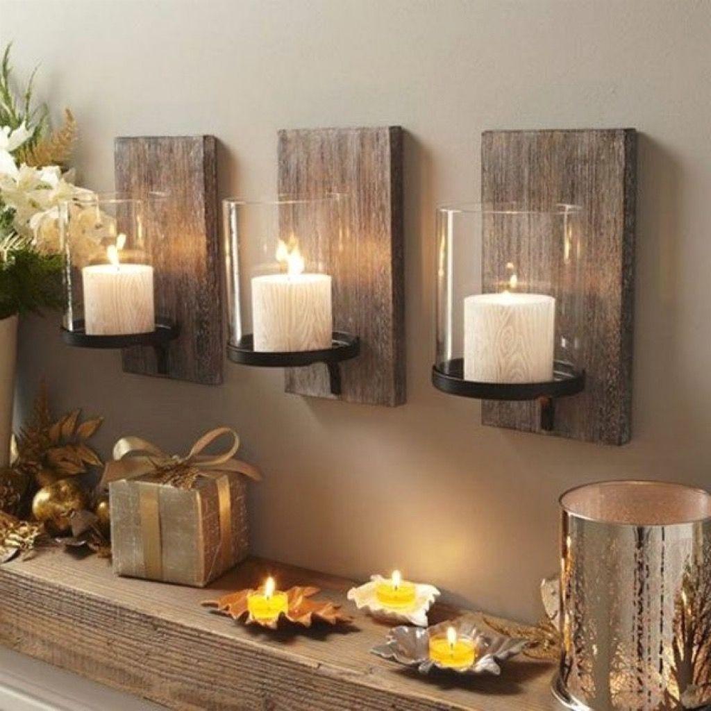 Möbel, Cool Wanddekoration Wohnzimmer Holz Ideen: Neu