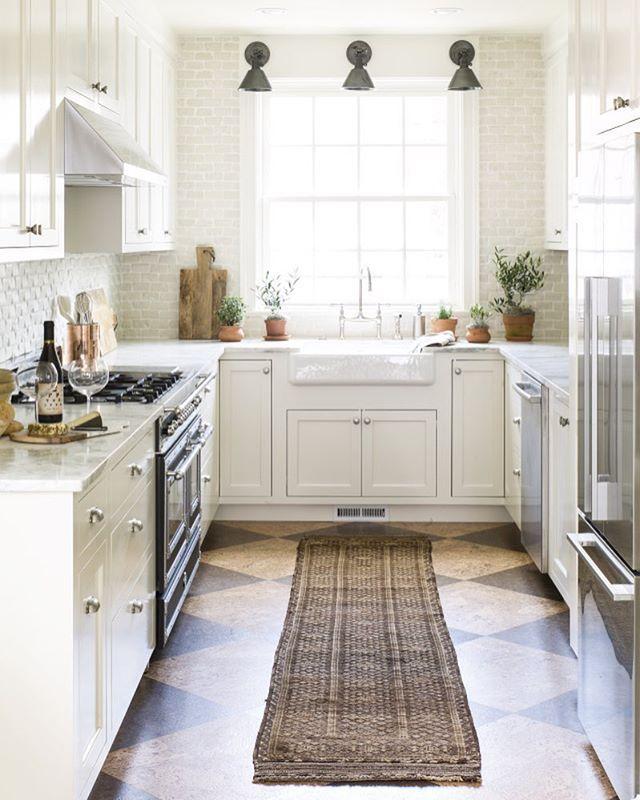 Kitchen Lauren Liess Habitat Harlequin Cork Floors Tumbled Marble Walls With Images Best Flooring For Kitchen Trendy Kitchen Tile Kitchen Flooring