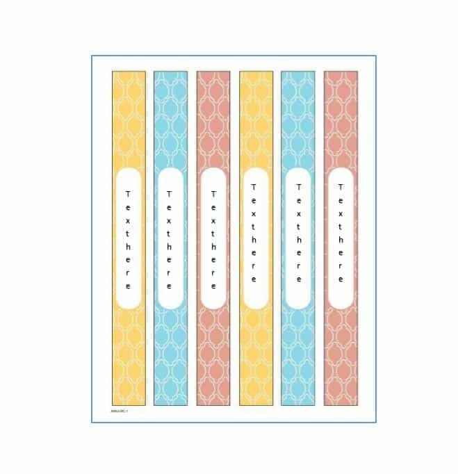 40 binder spine label templates in word format music song staff