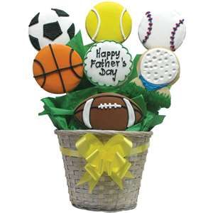 Father's Day Food Gifts   Cookie Baskets for Dad
