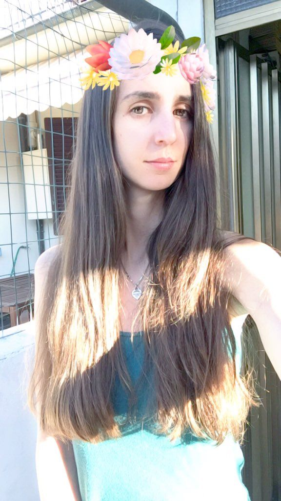 #longhair sempre più #longhairdontcare ma la mia faccia è sempre più da demente https://t.co/QlkdEnAXdS