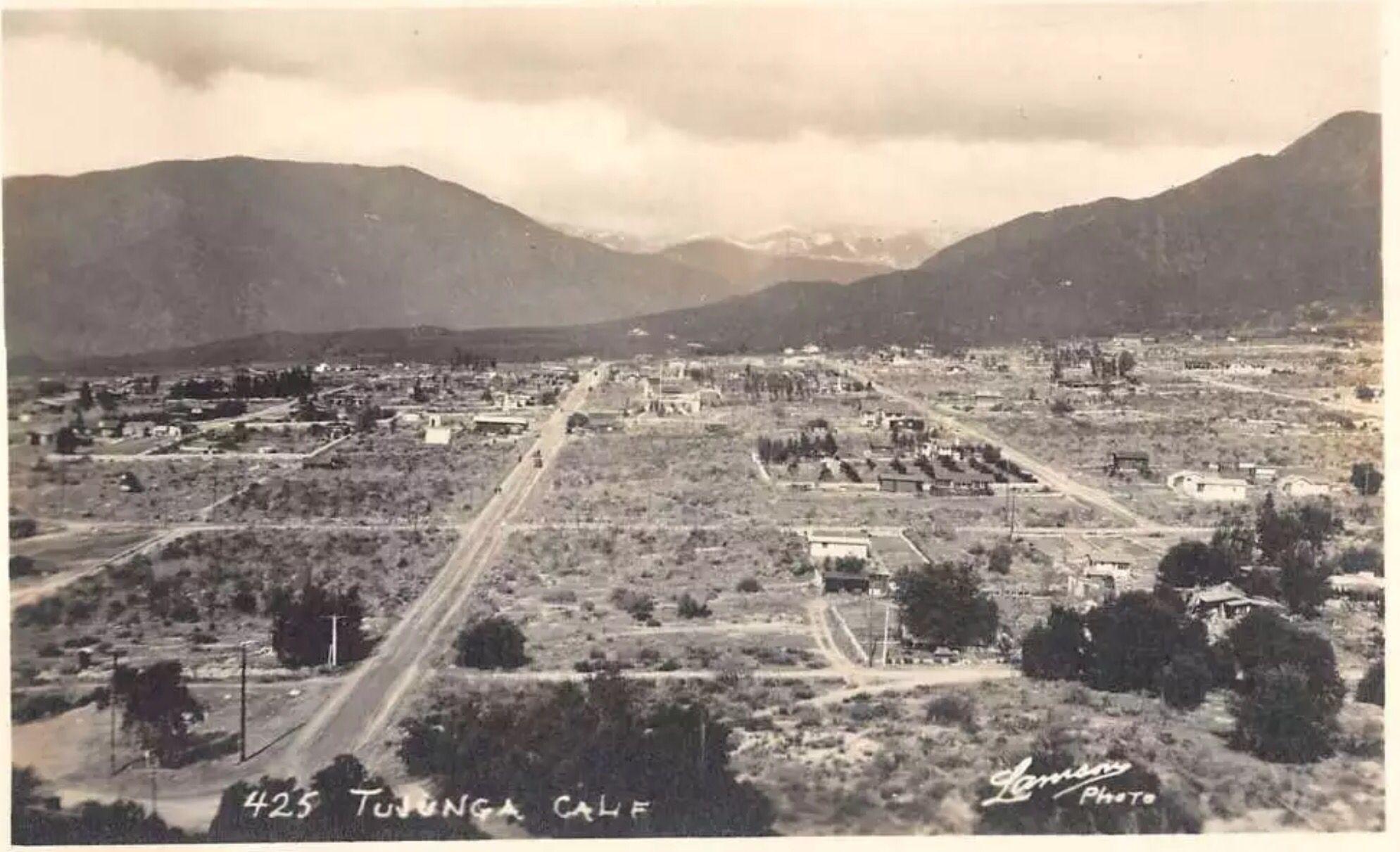 Tujunga California - circa early 1900's