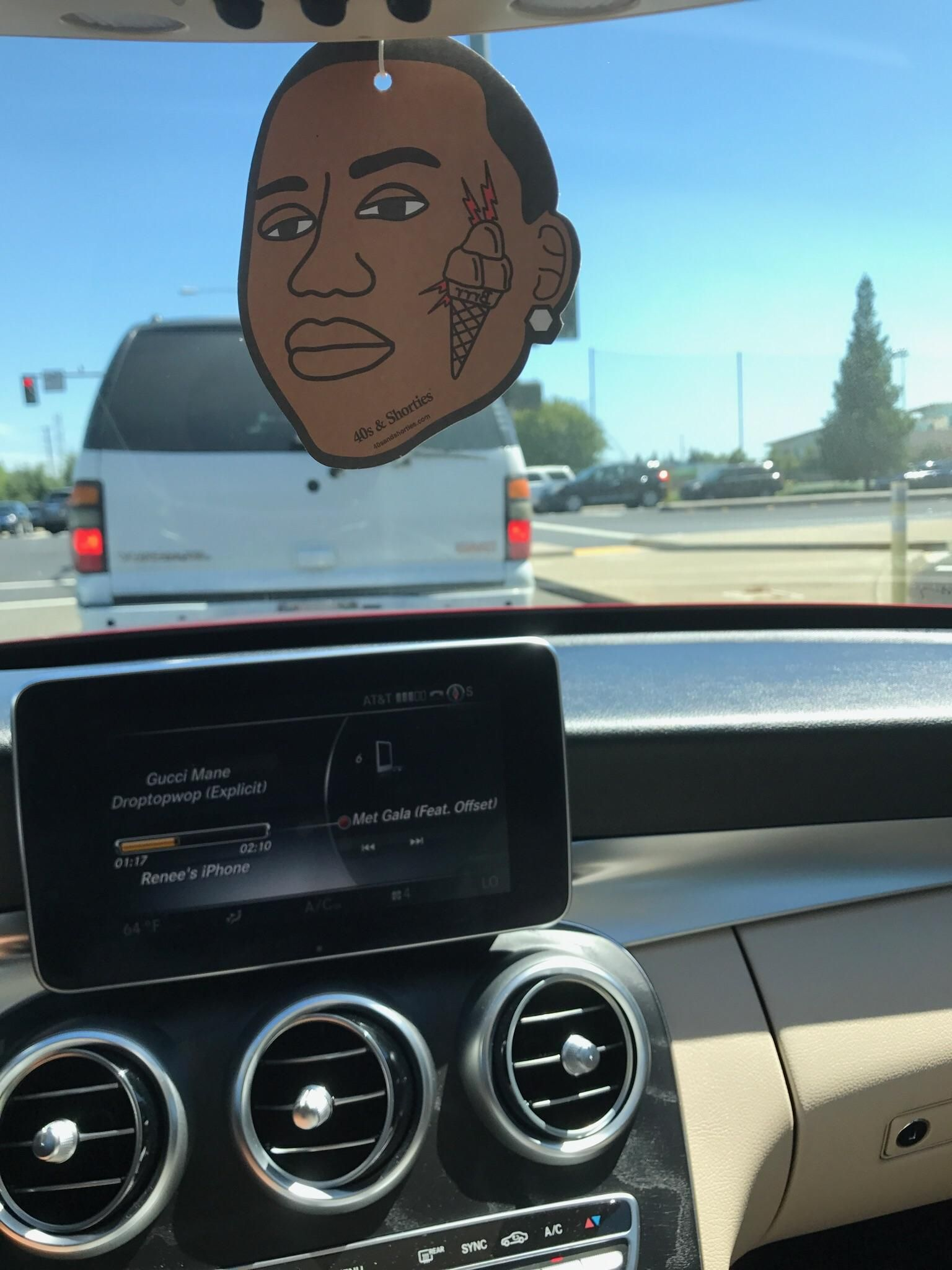 My mom\'s new Gucci Mane air freshener - Aromeco Air Freshener Car ...
