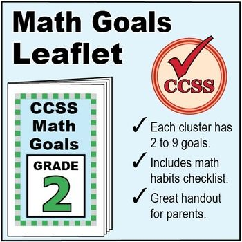 This FREE \u201cI Can\u201d leaflet for Grade 2 shows goals aligned to each - student sign in sheet