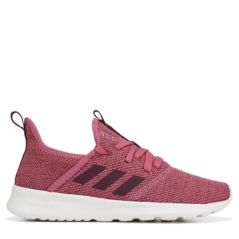 13cd1b24204 Adidas Women s Cloudfoam Pure Sneakers (Purple Maroon)