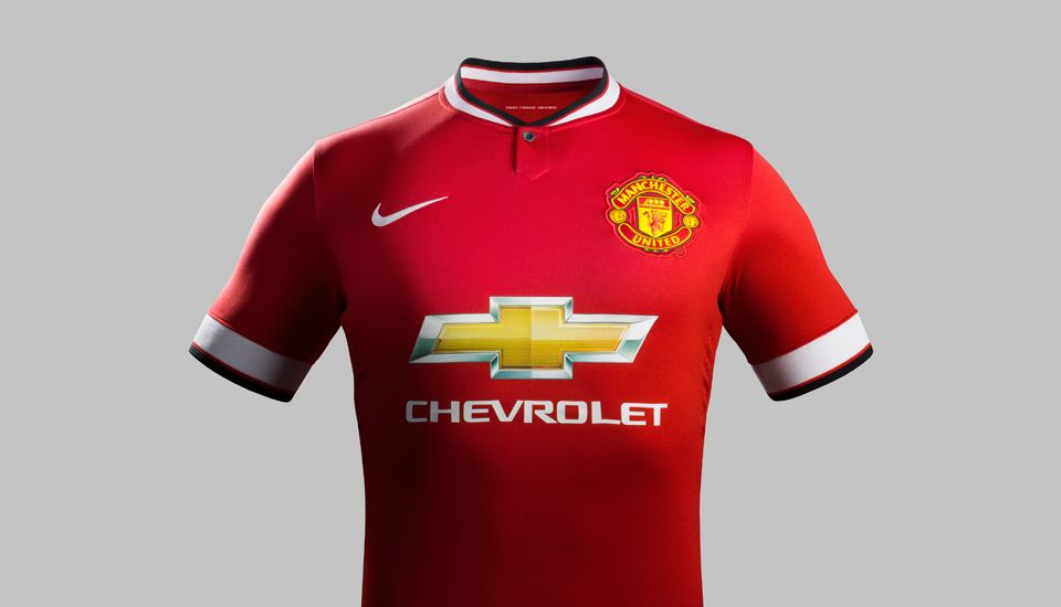 nike manchester united 14 15 home kit soccerbible manchester united camisa del manchester united manchester nike manchester united 14 15 home kit