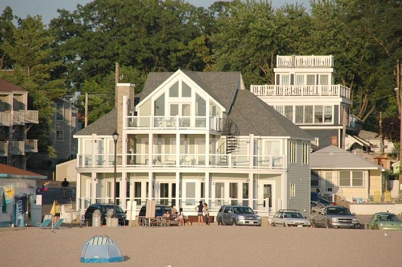 South Haven House Rental Beach Glass Cottage On North Beach Unforgettable Views Homeaway