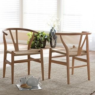 Hans Andersen Home Wishbone Style Chair   Overstock.com Shopping ...
