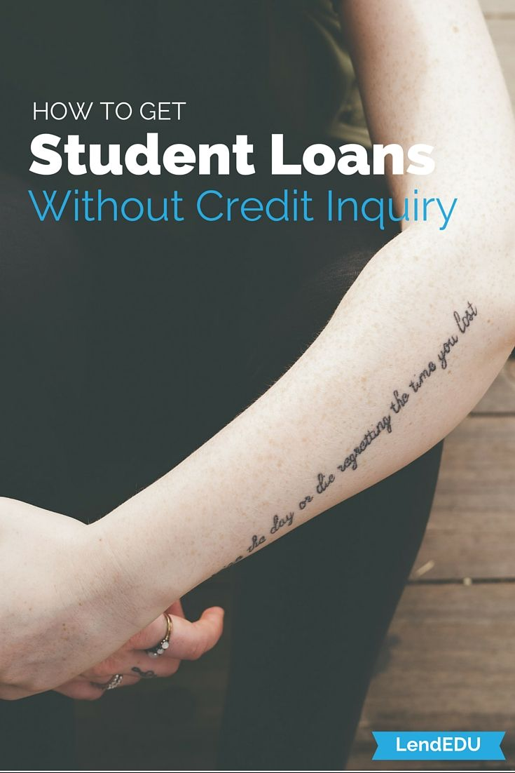 How to take out a student loan with no credit