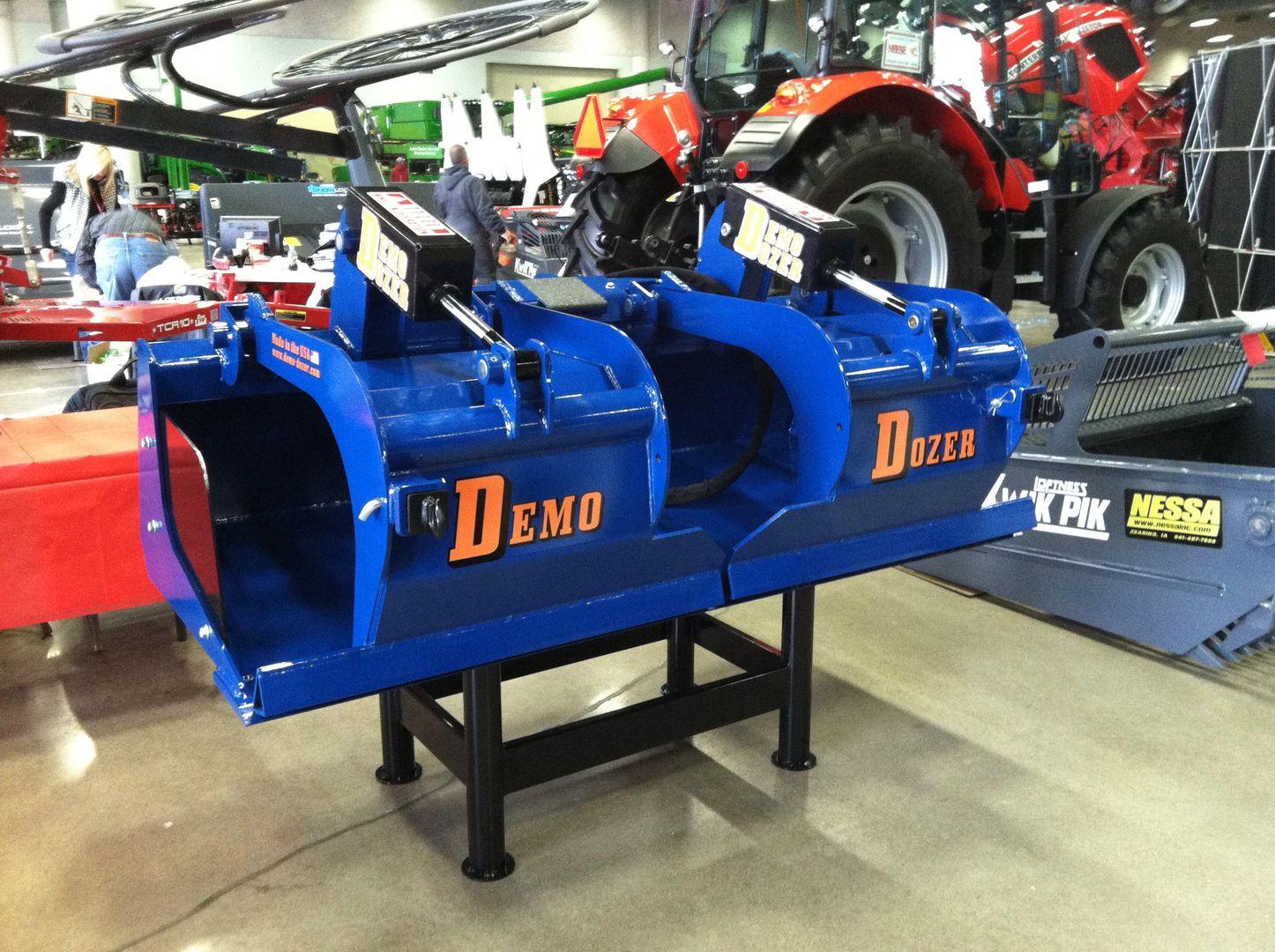 john waddington jr skid steer attachments for sale demo dozer