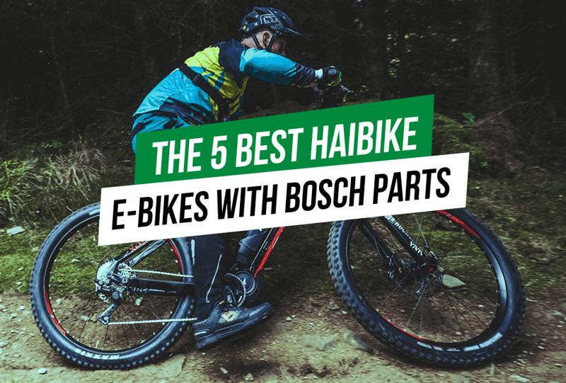 The 5 Best Haibike E Bikes With Bosch Parts With Images Ebike