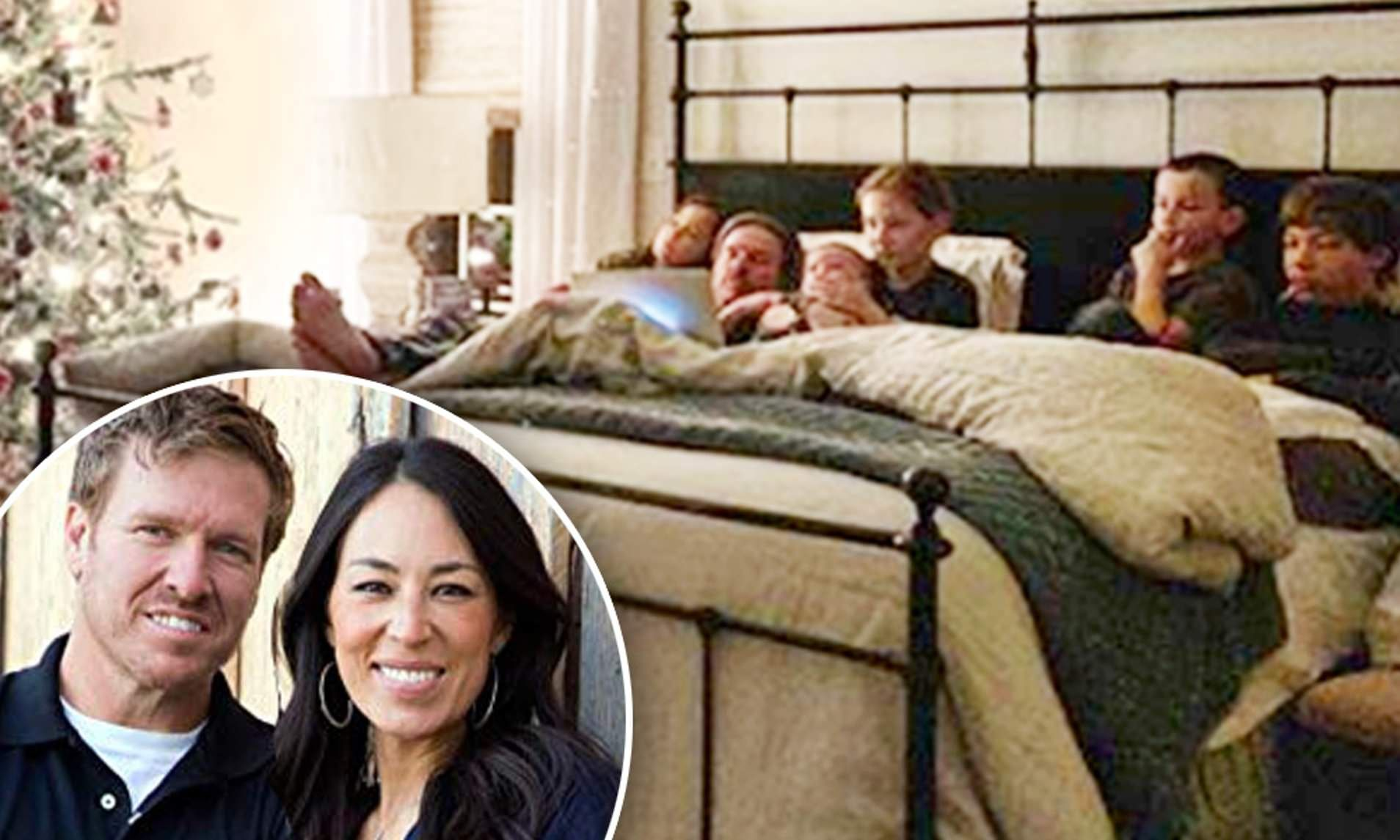 Chip And Joanna Gaines Gather All Five Kids For Family Movie Night