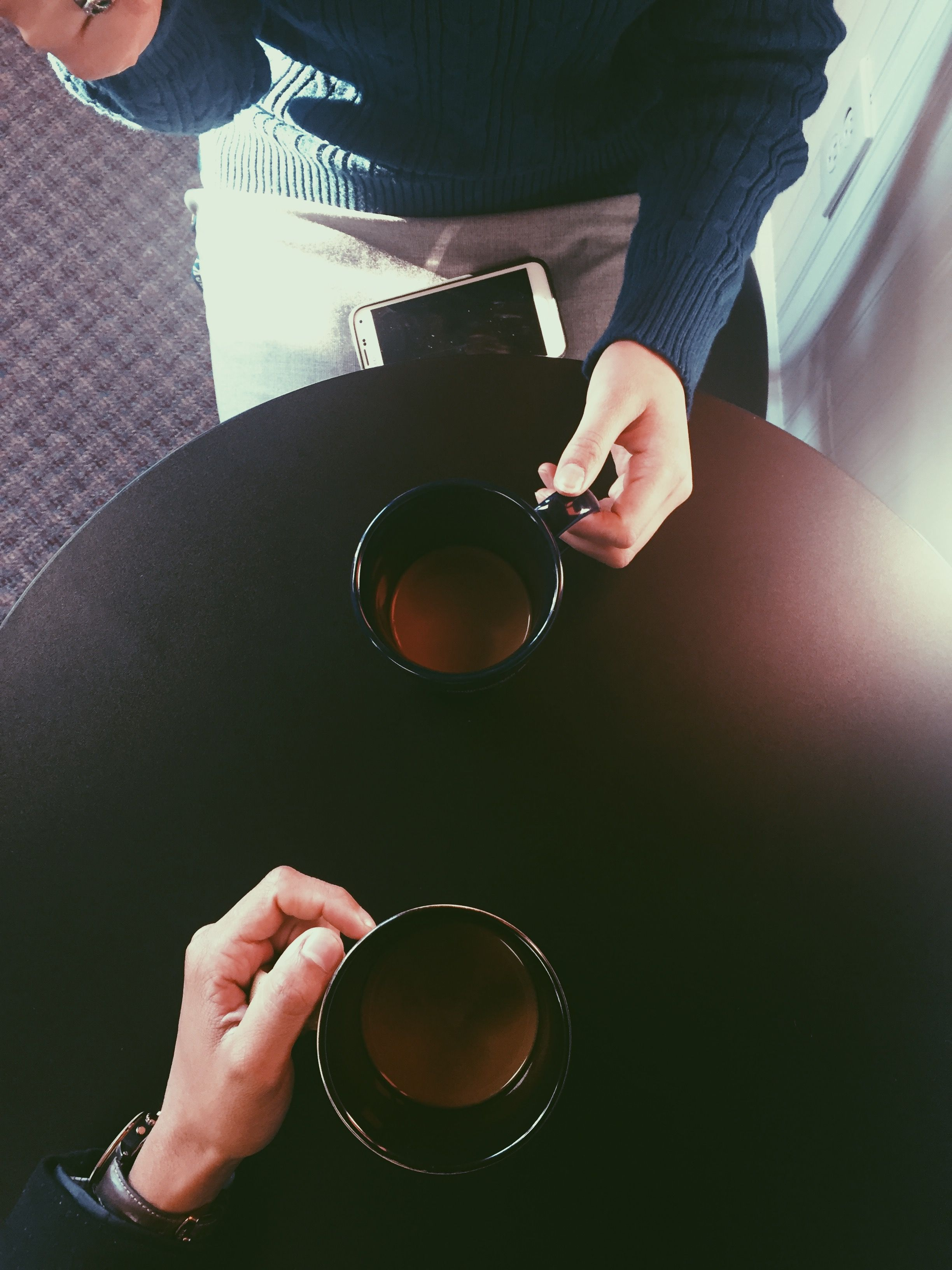 But first coffee//