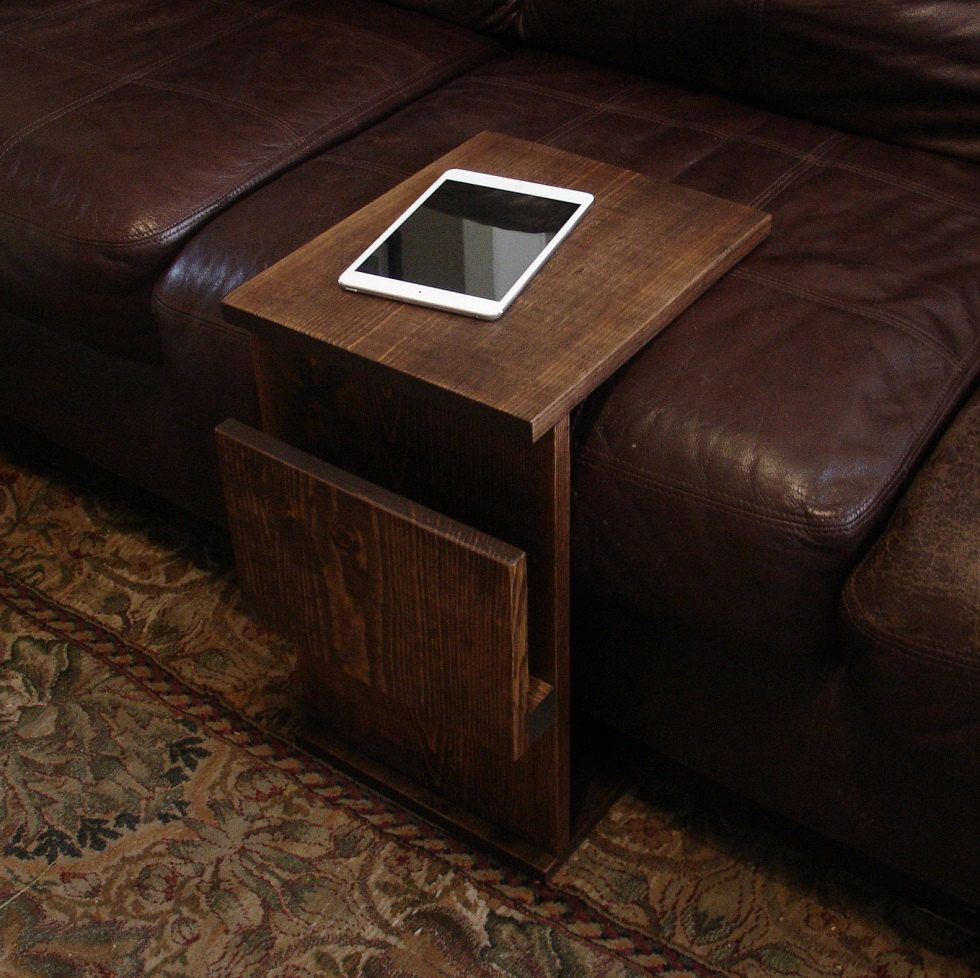 sofa in couch plans glass side table under slide tray new luxury tablesslide of trends tv design