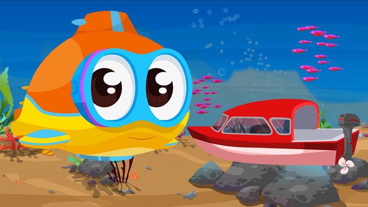 Cartoni Animati Per Bambini Oscar Il Sottomarino E Il Motoscafo Cartoni Animati Bambini Cartone Animato