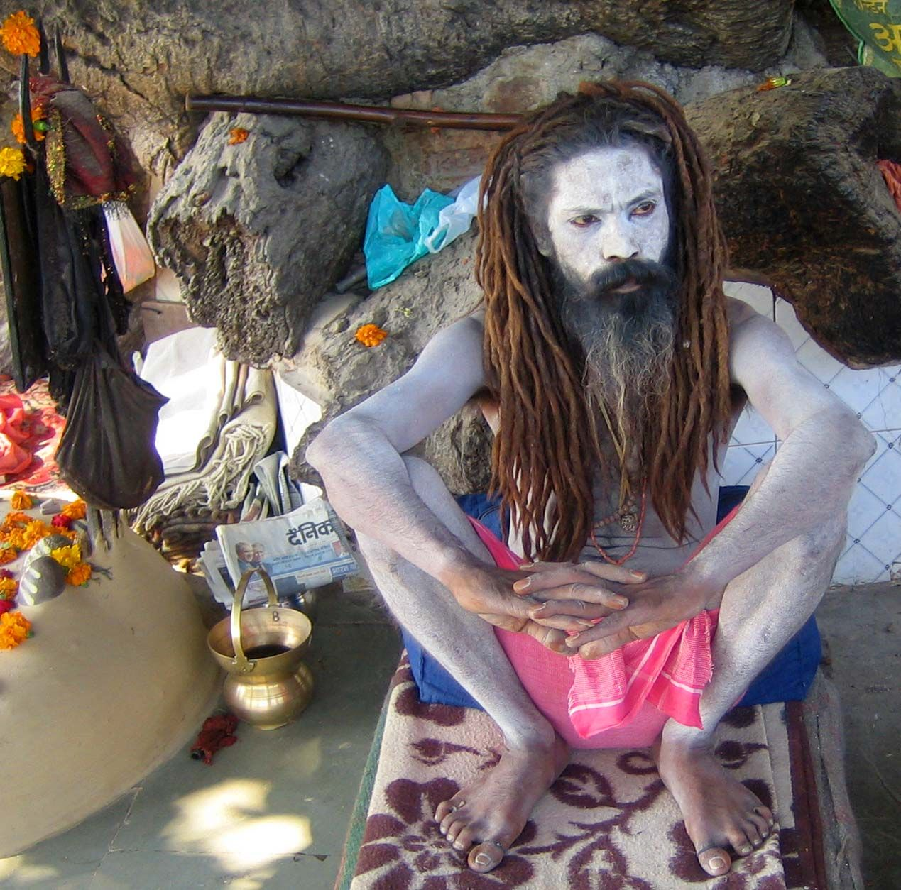 A sadhu in india with his hair in jata dreadlocks we are the a sadhu in india with his hair in jata dreadlocks biocorpaavc Image collections