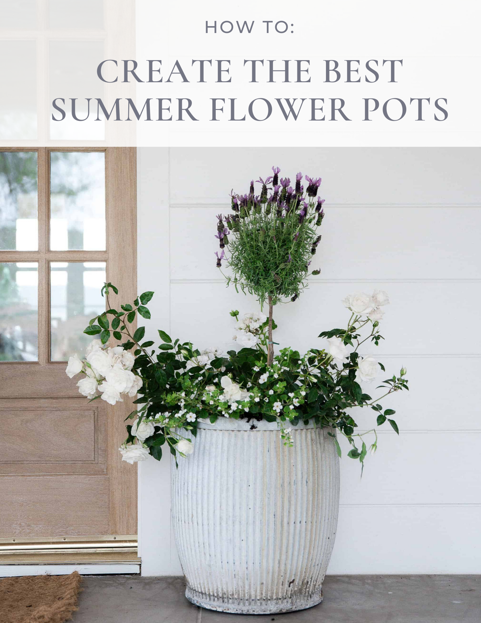 The Best Ideas For Creating Stunning Summer Flower Pots In 2020 Flower Pots Summer Flowers Flowers