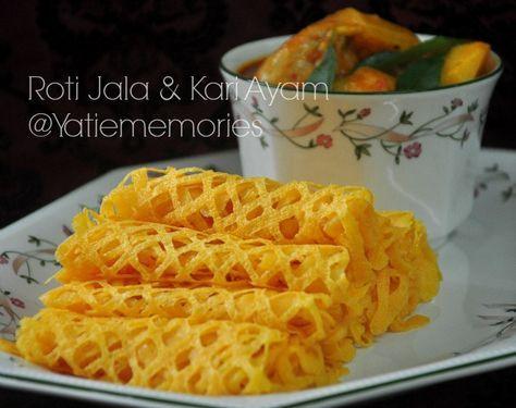 Roti Kirai Kari Ayam Roti Malay Food