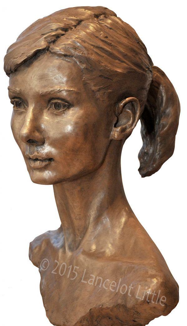 Bronze sculpture by sculptor lancelot little titled