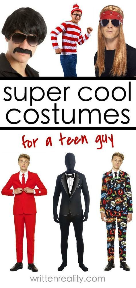 halloween costume ideas for teen boys need a quick idea for the teen guy in your life there are lots of costume ideas for teen guys too